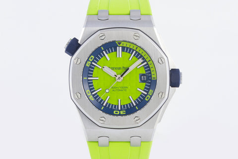 Audemars Piguet Royal Oak Offshore Diver - Green Dial