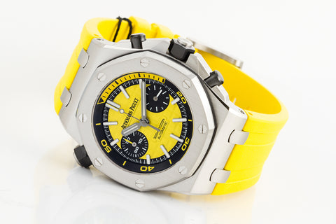 Audemars Piguet Royal Oak Offshore Diver Chronograph - Yellow Dial