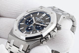 Audemars Piguet Royal Oak Chronograph 41mm Titanium & Platinum on Bracelet - Gray Dial - Authentick