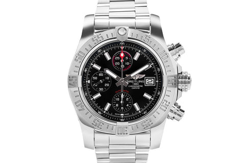 Breitling Chronomat Colt Automatic 44 - Stainless Steel on Bracelet - Silver Dial
