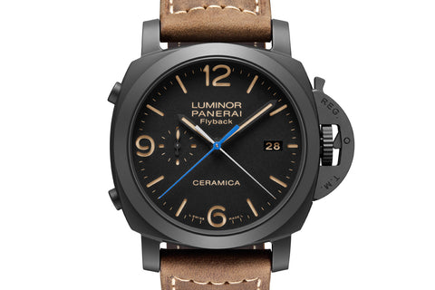 Panerai Luminor 1950 3 Days Flyback Black Ceramic (PAM 580)