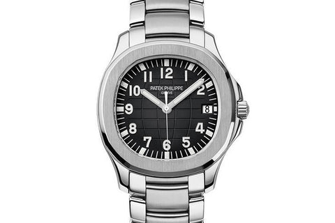 Patek Philippe Aquanaut 5167/1A-001 - Stainless Steel on Bracelet - Black Dial