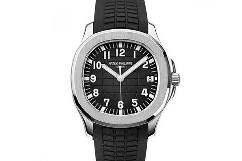 Patek Philippe Aquanaut 5167A-001 - Stainless Steel on Black Rubber - Black Dial