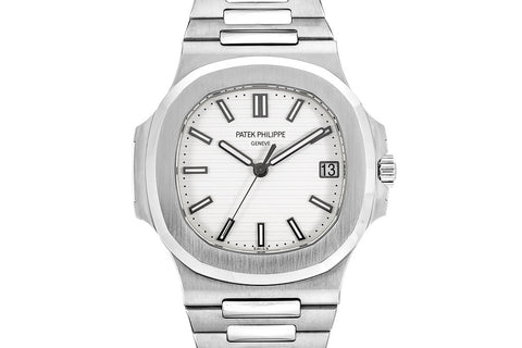 Patek Philippe Nautilus 5711/1A-011 - Stainless Steel on Bracelet - White Dial