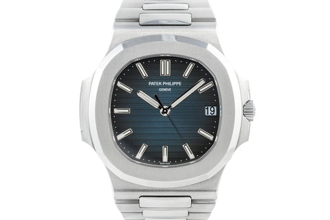 Patek Philippe Nautilus 5711/1A-010 - Stainless Steel on Bracelet - Blue Dial