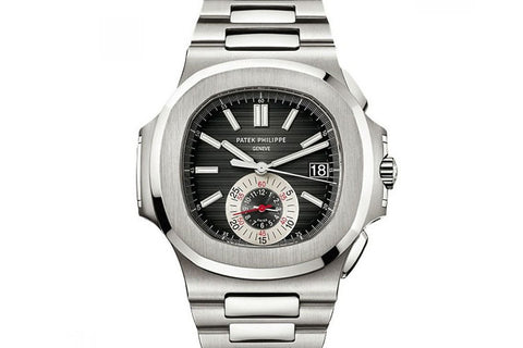 Patek Philippe Nautilus Chronograph 5980/1A-014 - Stainless Steel on Bracelet - Black Dial