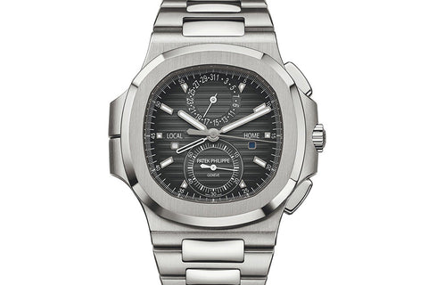 Patek Philippe Nautilus Chronograph 5990/1A-001 - Stainless Steel on Bracelet - Black Dial