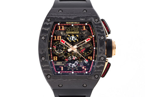 Richard Mille RM 011 Romain Grosjean Lotus F1 Team