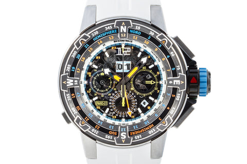 Richard Mille RM 60-01 St. Barth Limited Edition Titanium GMT Chronograph