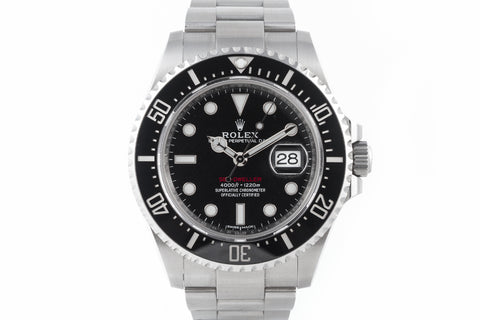 Rolex Oyster Perpetual Sea-Dweller Stainless Steel - Black & Red Dial