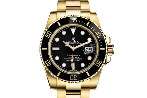 Rolex Oyster Perpetual Submariner Date 18K Yellow Gold - Black Dial