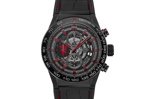TAG Heuer Carrera Calibre Heuer 01 Automatic Chronograph - Manchester United Red Devil