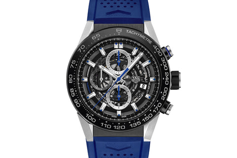 TAG Heuer Carrera Calibre Heuer 01 Automatic Chronograph - Blue Touch