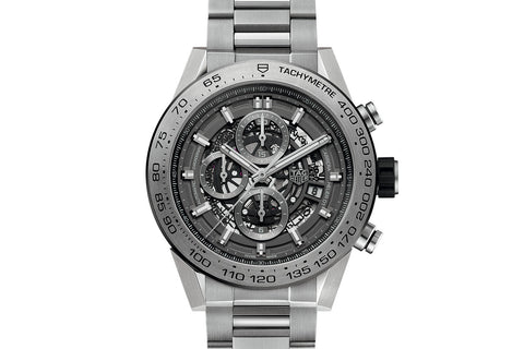 TAG Heuer Carrera Calibre Heuer 01 Automatic Chronograph - Grey Phantom Titanium
