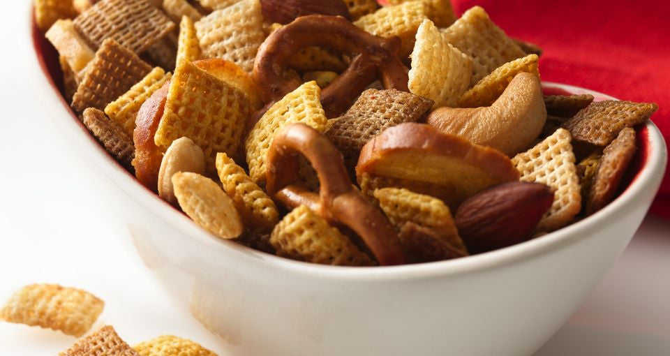 Chex Mix - the perfect holiday snack!