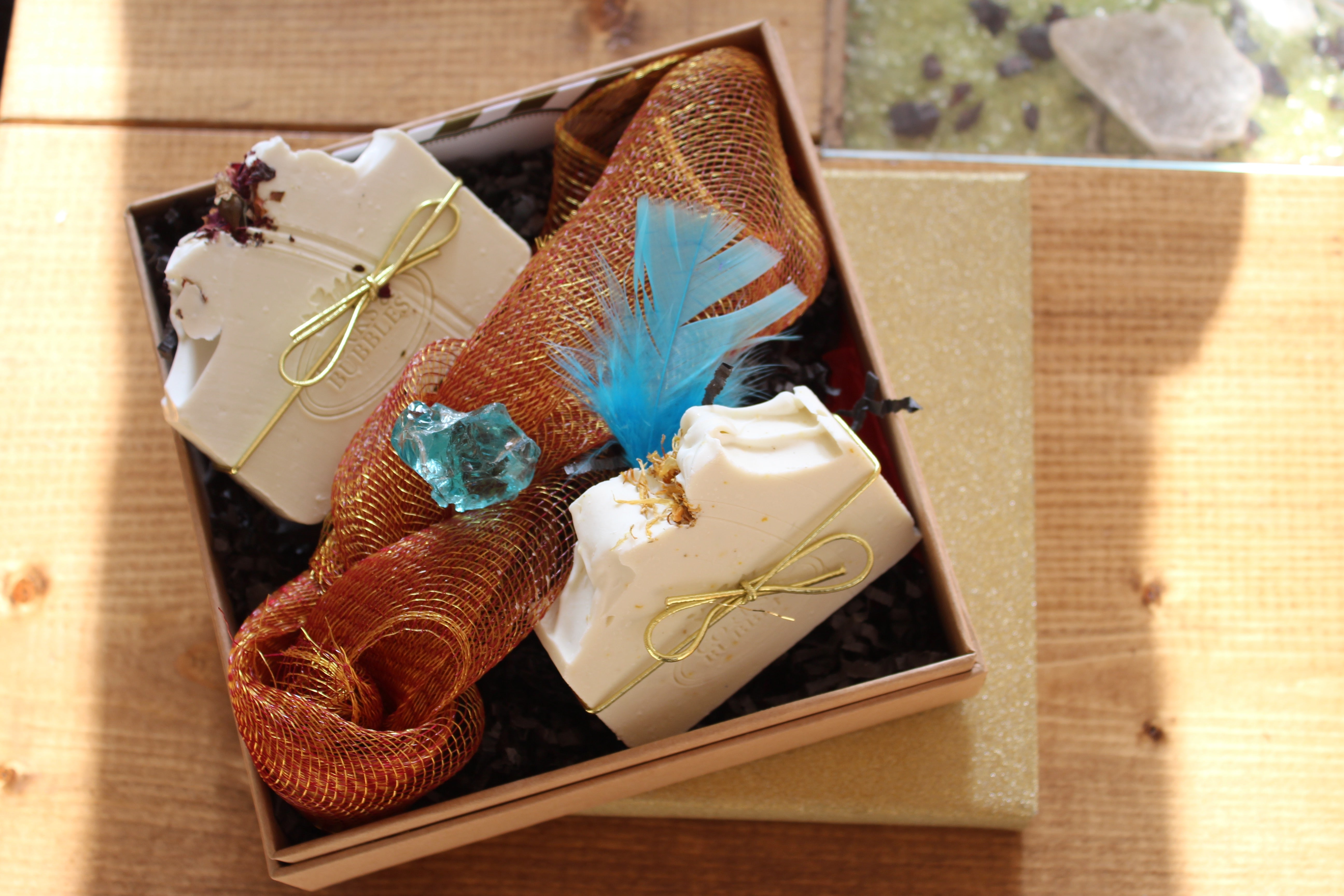 Corks & Bubbles Luxury Gift Box with Crystal