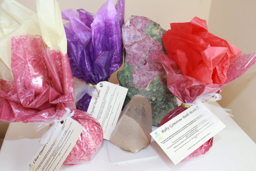 Corks & Bubbles Crystal Bath Bomb Collection