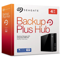 Seagate Backup Plus Hub 4TB External Desktop Hard Drive Storage STEL4000200, STORAZEBIZ , BACKUP PLUS HUB DRIVE