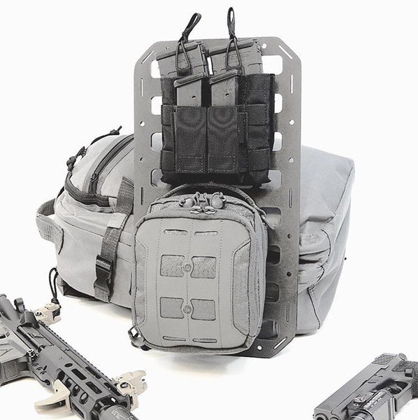 Grey Man Tactical Rigid MOLLE Panel back pack insert