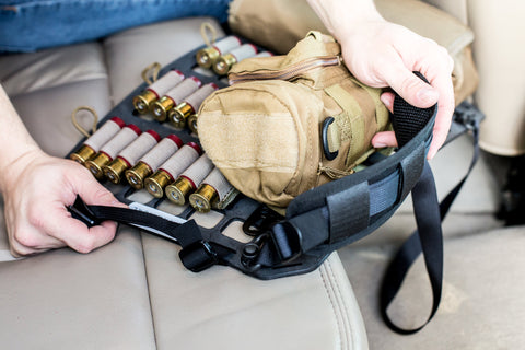 Convert any Rigid MOLLE Panel to a Standalone Backpack with two QD Push Button Bottom Straps 36""