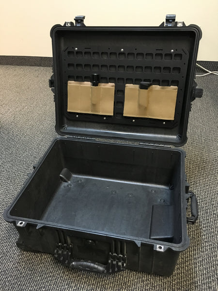 Grey Man Tactical Rigid MOLLE Panel Pelican 1610 Case Lid Organizer
