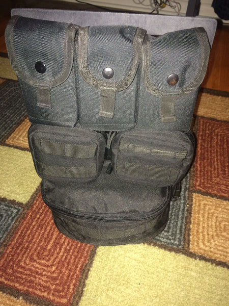 Grey Man Tactical Rigid MOLLE Panel NYC New York Stage Hand Electrician Commuter Tool Bag Organizer