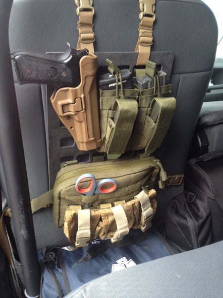 Grey Man Tactical Rigid MOLLE Panel Law Enforcement Active Shooter Kit