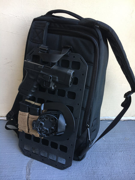 Grey Man Tactical Rigid MOLLE Panel RIP-M Backpack Tactical Insert Covert Conceal Carry GoRuck GR1 GR2