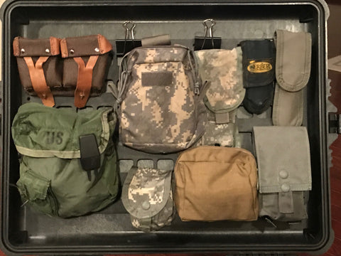 Grey Man Tactical Rigid MOLLE Panel Pelican Case 1620 1610 Lid Organizer Military Aviator Flight Gear Pilot Organization