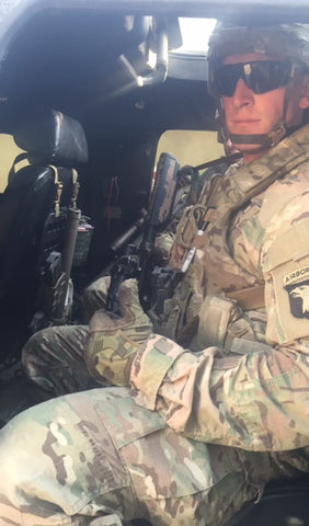 101st Airborne using Grey Man Tactical Rigid MOLLE Panel (RIP-M) in Mosul, Iraq in the fight against ISIS