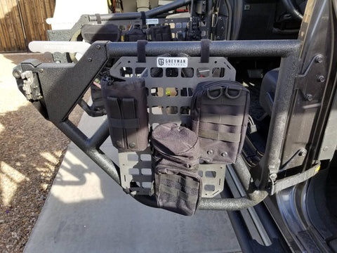 2017 Jeep Wrangler Unlimited Rigid MOLLE Panel Upgrade