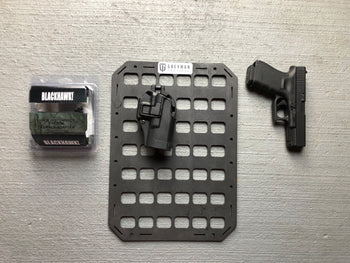 Backer Plates (Pair) for Blackhawk Pistol Holster Quick Disconnect