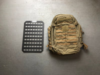 Rigid MOLLE Panel - 12.25in x 19in