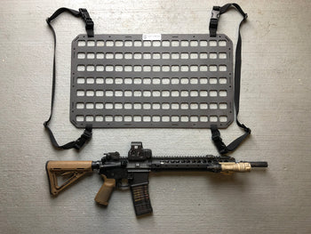 behind the seat gun holder tactical panel