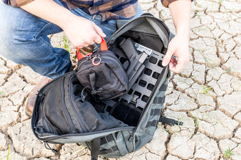 Pull your everyday carry gear out of your backpack
