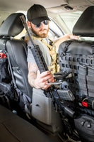 Locking Rifle Rack System for Rigid MOLLE Panel