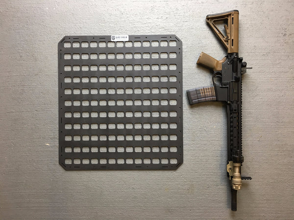 Rigid Insert Panel MOLLE (RIP-M) 21.25in x 23in