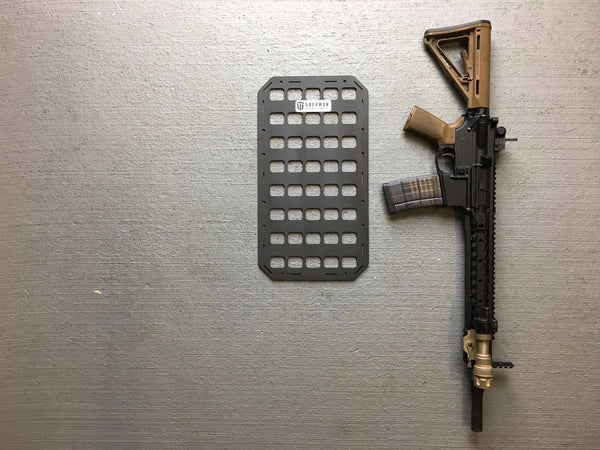 Rigid Insert Panel MOLLE (RIP-M) for 5.11 Tactical Rush 12 - 9.25in x 17in