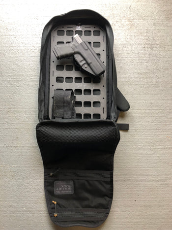 everyday carry backpack with insert