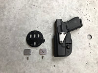 Backer Plate for G-Code RTI Wheel Pistol Holster Quick Disconnect