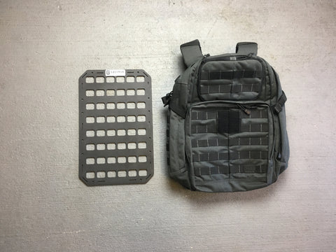 Rigid Insert Panel MOLLE (RIP-M) for 5.11 Tactical Rush 24 - 10.75in x 17in