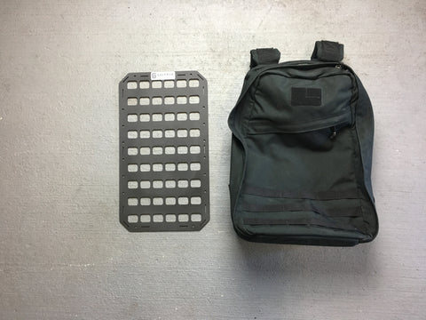 Rigid Insert Panel MOLLE (RIP-M) for GoRuck GR1 26L - 10.75in x 19in