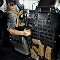 Vehicle Locking Rifle Rack - SC-6 Mount + 15.25 X 25 RMP™