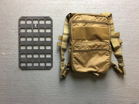 Rigid Insert Panel MOLLE (RIP-M) for Haley Strategic Flatpack - 8in x 12.5in