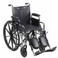 Chrome Sport Wheelchair