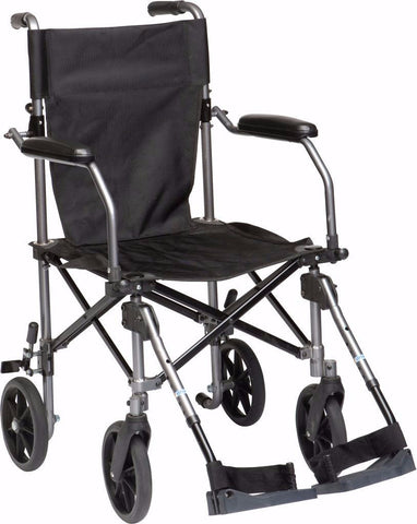 Drive Medical Travelite Transport Wheelchair in a Bag