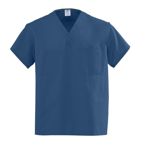 AngelStat Unisex Reversible V-Neck Scrub Tops