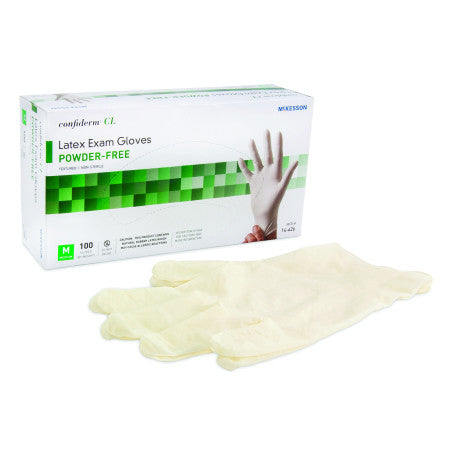 Confiderm Powder-Free Latex Exam Gloves