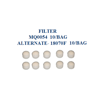 Replacement Filters for Nebulizers 10 Pack