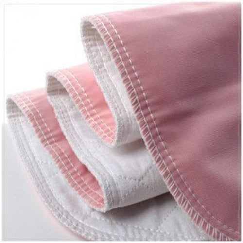 Wave Pink Reusable Underpads - Vintex Backing
